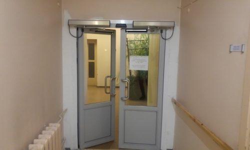 Pvc stiklotas durvis ofisam