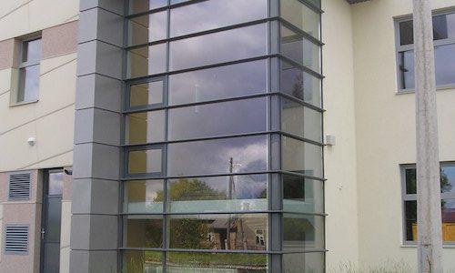 Stiklotas ēkas projektēšana, konstrukciju izgatavošana